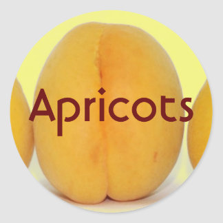 Apricots stickers