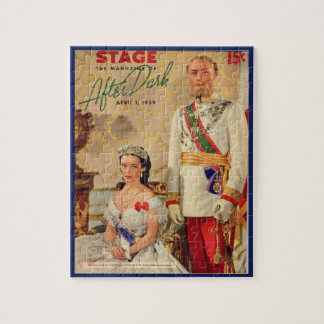April 1939 Stage Magazine cover Jigsaw Puzzle