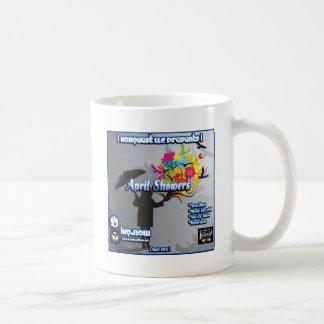 April - April Showers Basic White Mug