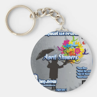 April - April Showers Key Chain