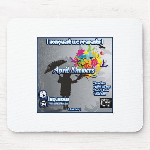 April - April Showers Mouse Pads