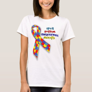 April Autism Awareness Month T-Shirt