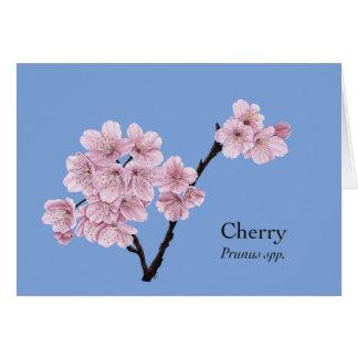 April - Cherry Card