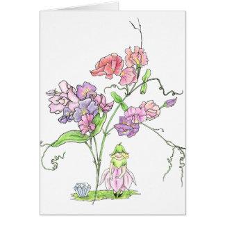 April Fairy Birthday Card