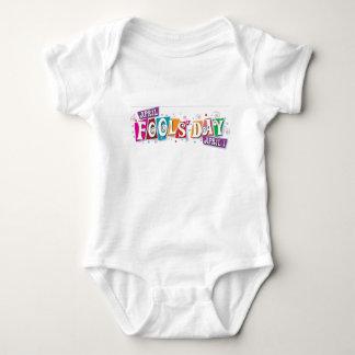April fool day baby bodysuit