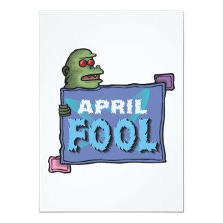 """April Fool 5"""" X 7"""" Invitation Card"""