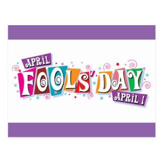 April Fools' Day - April 1st Postcard
