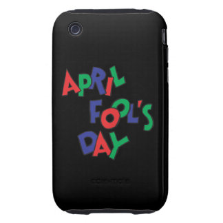 April Fools Day Tough iPhone 3 Cases