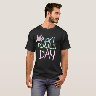 April Fools Day Court Jester Prankster Tee