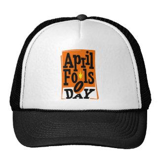 April Fools Day Mesh Hats