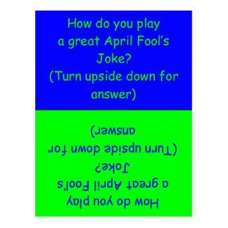 April Fool's Day Humorous Card