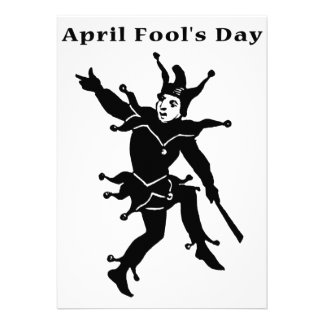 April Fools Day Personalized Invitation