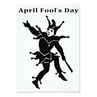 """April Fools' Day 5"""" X 7"""" Invitation Card"""