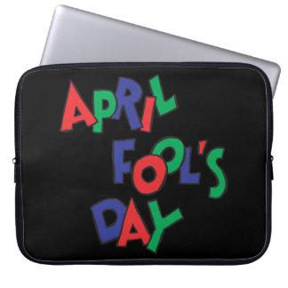 April Fools Day Laptop Sleeve