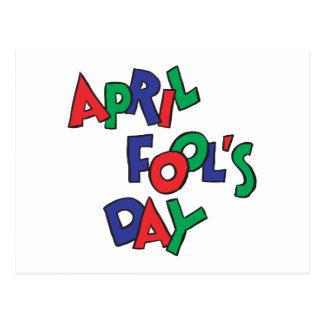 April Fools Day Postcard