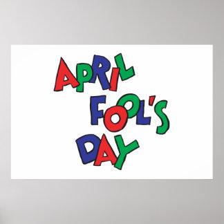 April Fools Day Posters