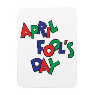 April Fools Day Rectangle Magnet