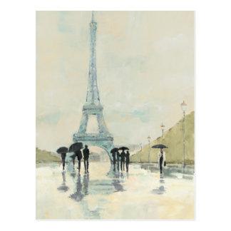 April in Paris Postcard