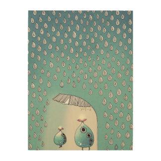 April Shower 2012 Wood Print