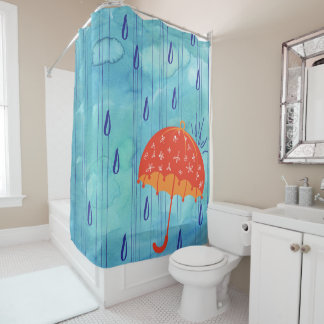 April Shower Bath Curtain Shower Curtain