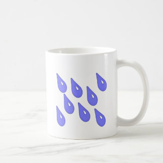 April Showers Apron Basic White Mug