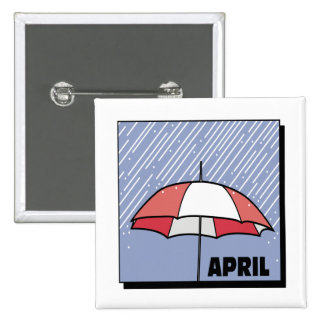 April Showers Buttons