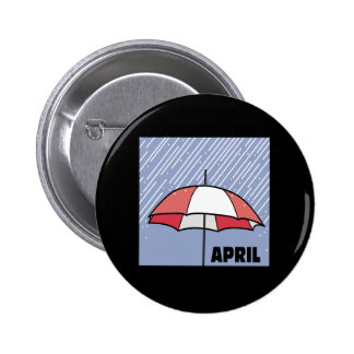 April Showers Pin