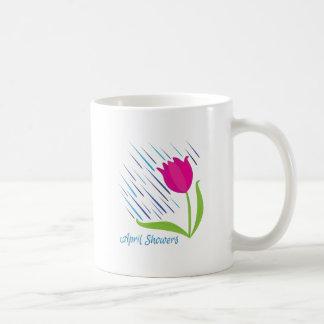 April Showers Basic White Mug