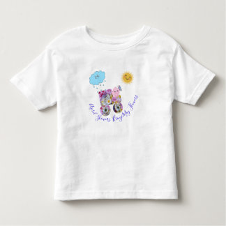 April Showers Bring May Flowers Toddler T-Shirt