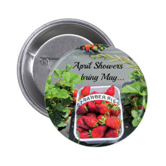 April Showers bring May STRAWBERRIES Pin