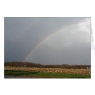 April Showers Bring Rainbows Greeting Card