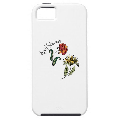 April Showers iPhone 5/5S Covers
