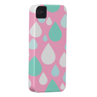 April Showers Design | Pink iPhone 4 Case-Mate Case