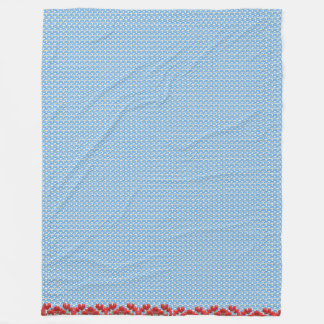April Showers Fleece Blanket