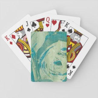 April Showers II Poker Cards