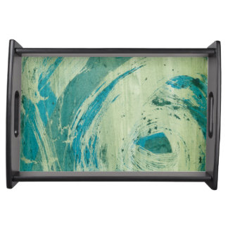 April Showers II Serving Platters