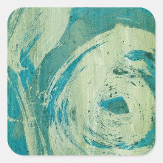 April Showers II Square Sticker