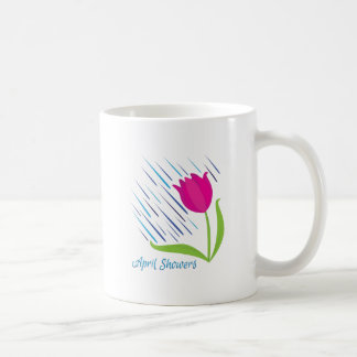 April Showers Classic White Coffee Mug