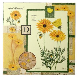 April's Flower Tile