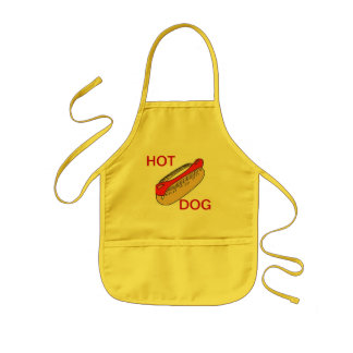 APRON CHEFS APRON FOR HOT DOG YELLOW