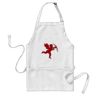 Apron Cupid Red