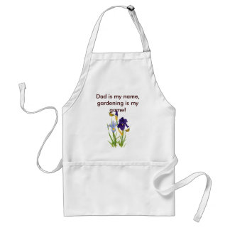 Apron, Dad is my name, gardening is my game! Standard Apron