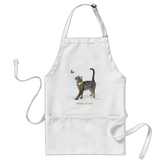 Apron Featuring Tabatha, the Tabby