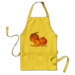 Apron -  Happy Thanksgiving pumpkin