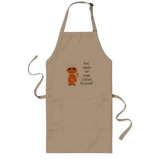 Apron  Humorous Kitty Kat Italian Chef