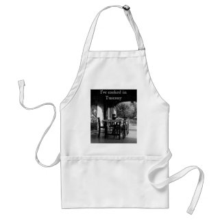 Apron: I've cooked in Tuscany Standard Apron