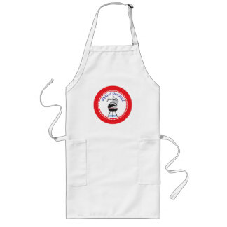 Apron | King of the Grill Charcoal Grill with Name