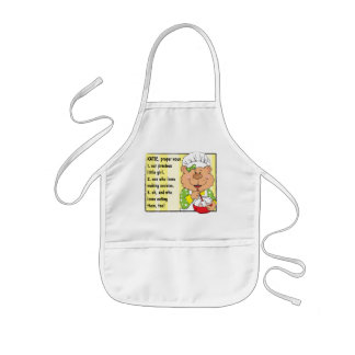 Apron Personalized Girl's Cooking/Baking Apron