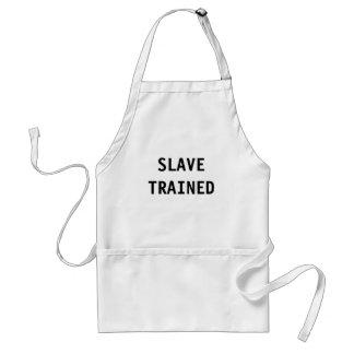 Apron Slave Trained