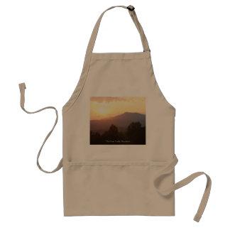 Apron, Sunrise, Great Smoky Mountains Standard Apron